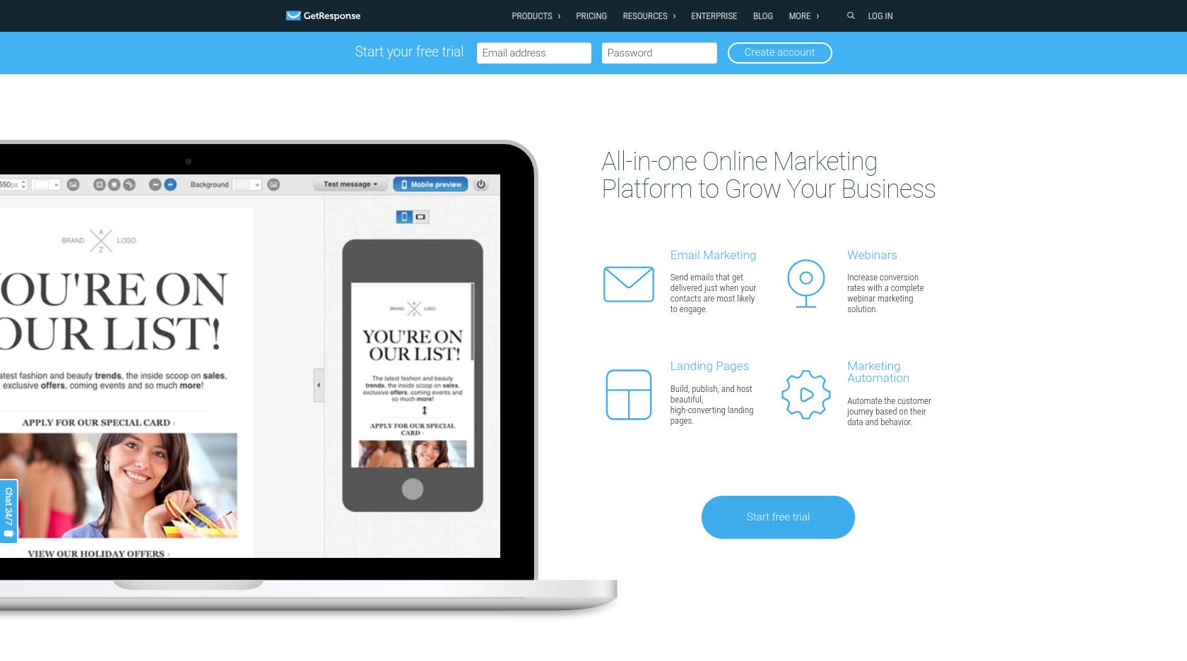 15+ meilleurs logiciels de marketing par courriel |  2020 meilleures évaluations 4