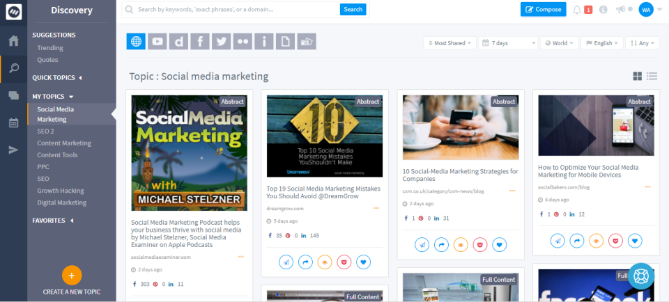 Top 30 Social Media Management Tools (That Will Save You $1000s) 10