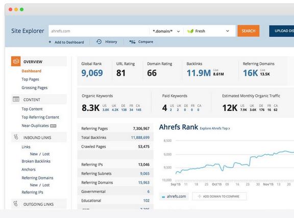 Top 15 des outils de vérification du backlink 4