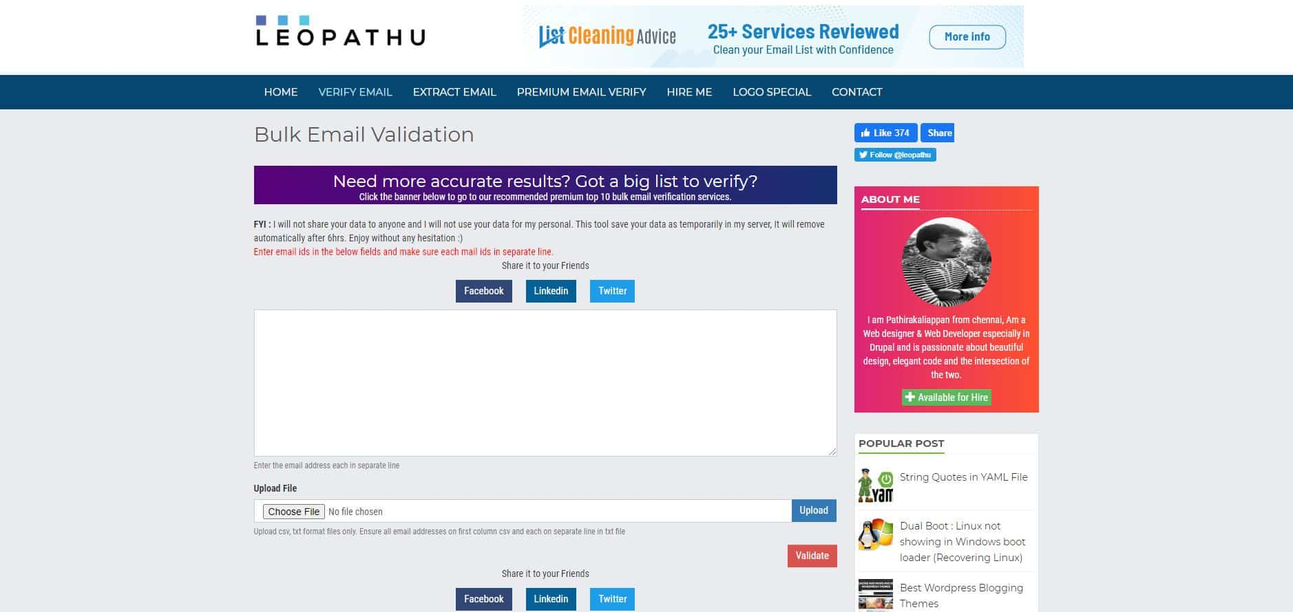 Top 20 Bulk email verification services [FREE & Paid] 2