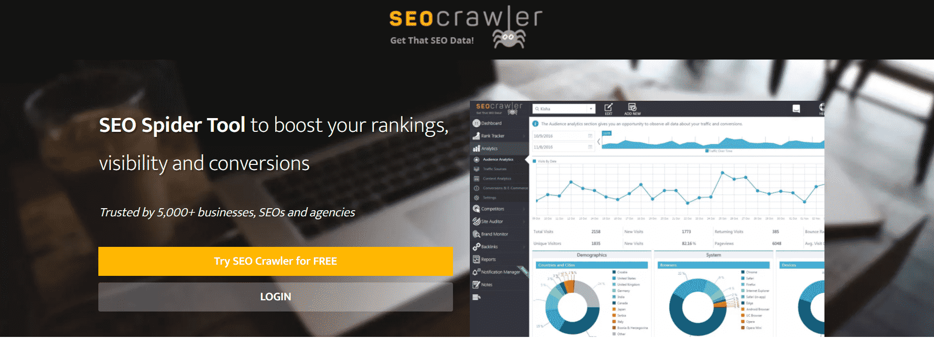 Top 15 Advanced Website Crawlers for Improved SEO 11